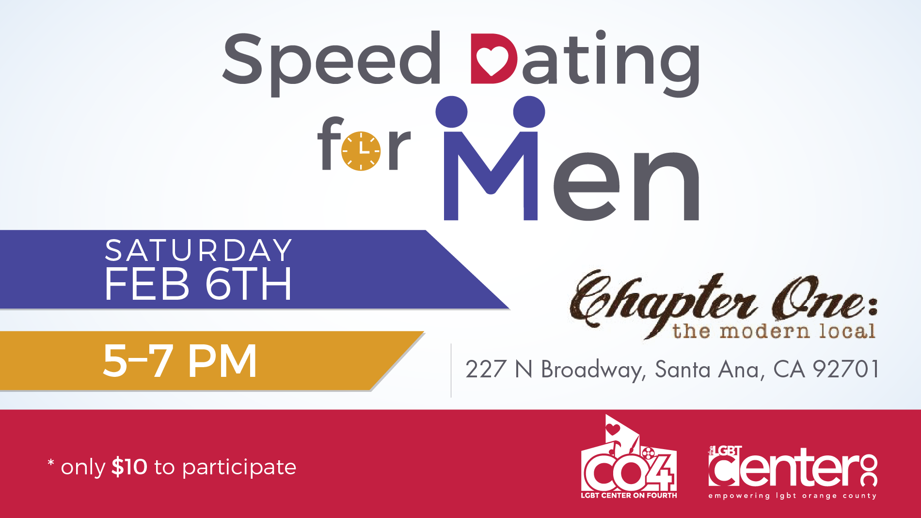 Gay speed dating orange county