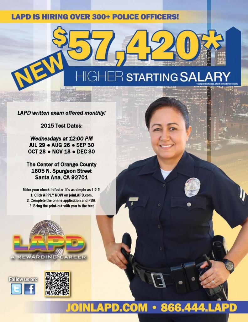 LAPD written exam question?