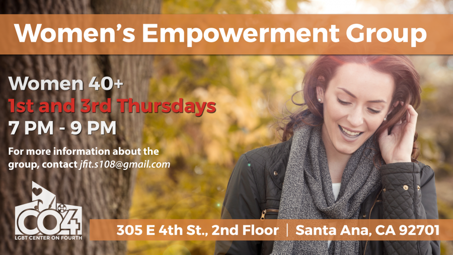 Women's Empowerment Group @ LGBT Center on 4th (2nd Floor) | Santa Ana | California | United States