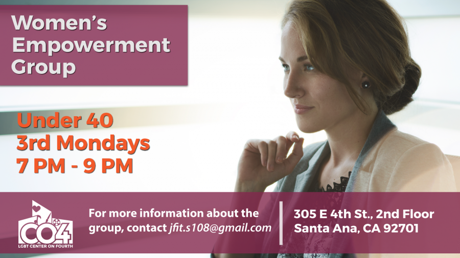 Under 40 Women's Empowerment Group @ LGBT Center on 4th | Santa Ana | California | United States