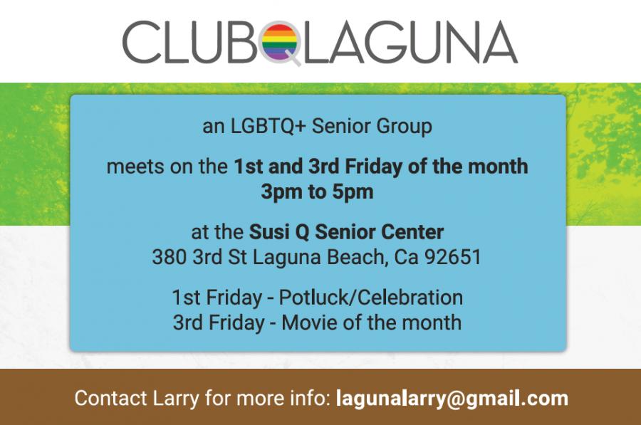 Club Q @ Susi Q Senior Center | Laguna Beach | California | United States