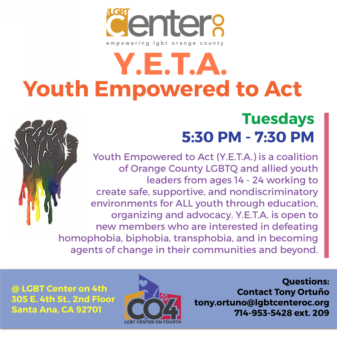 Youth empowered to act yeta lgbt center oc view larger image aiddatafo Choice Image