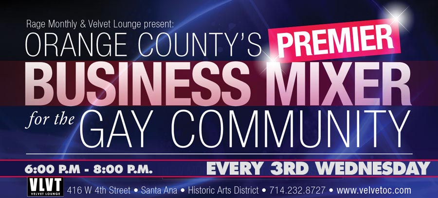 Youth Business Mixer ~ Business mixer for the lgbt community center oc