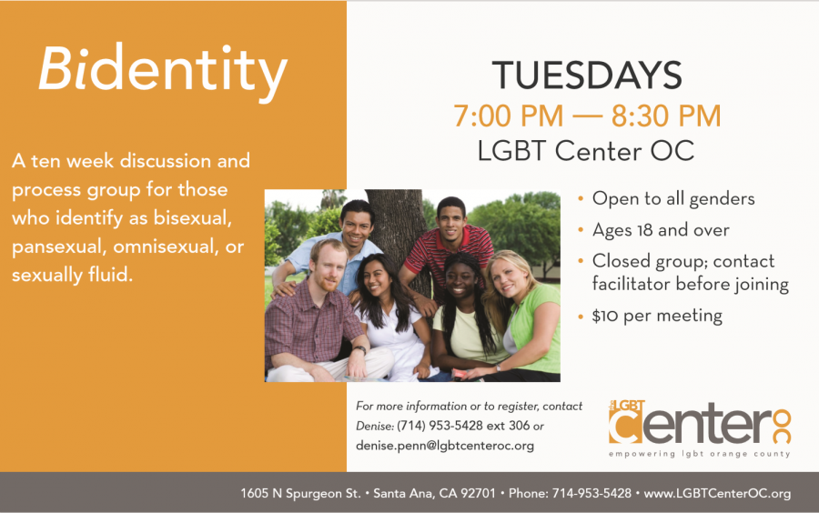 Bidentity @ LGBT Center OC | Santa Ana | California | United States