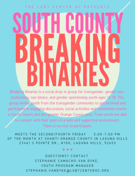 Breaking Binaries @ Shanti Orange County | Laguna Hills | California | United States