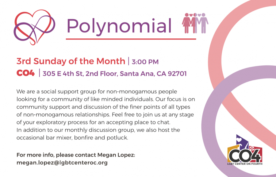 PolyNomial @ LGBT Center on 4th | Santa Ana | California | United States