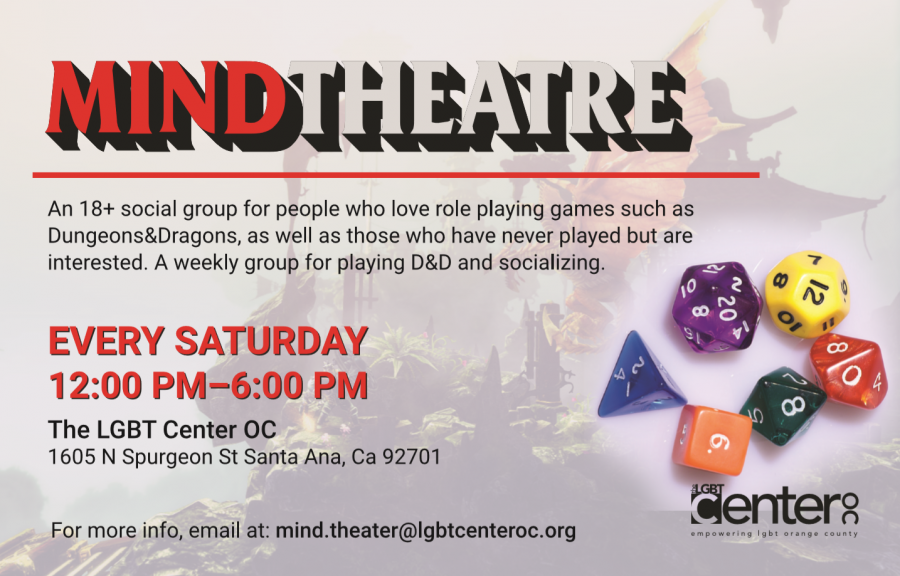 Mind Theatre @ LGBT Center OC | Santa Ana | California | United States