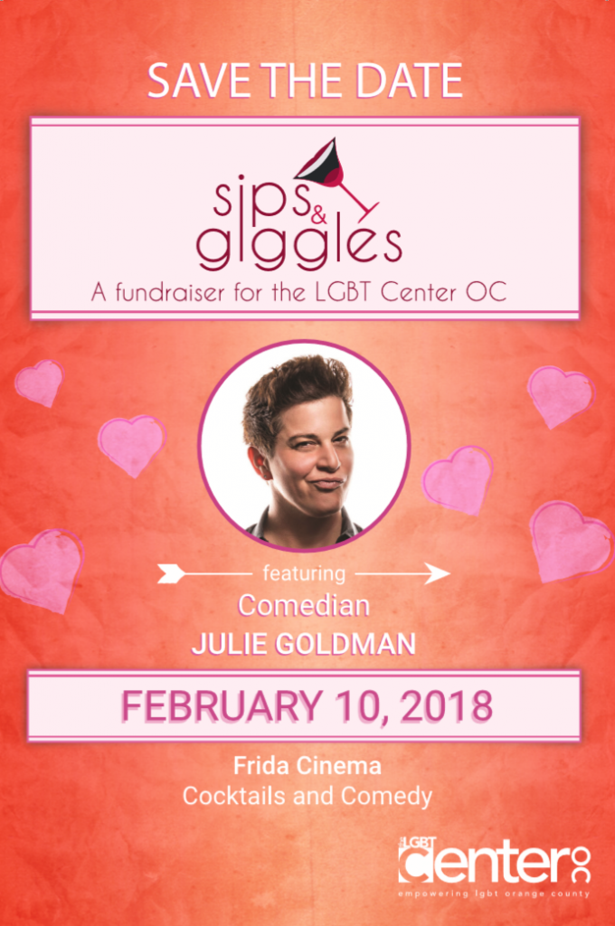 Sips and Giggles - LGBT Center OC