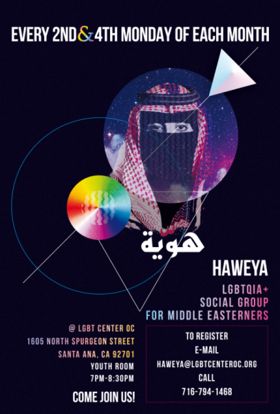Haweya LGBTQ+ Middle Eastern Support Group @ LGBT Center OC | Santa Ana | California | United States