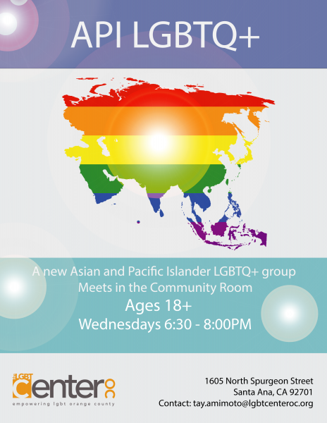 API LGBTQ+ @ LGBT Center OC | Santa Ana | California | United States